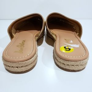 Sam Edelman Shoes - Sam Edelman Gold Esparille Slip On Sandals sz 9